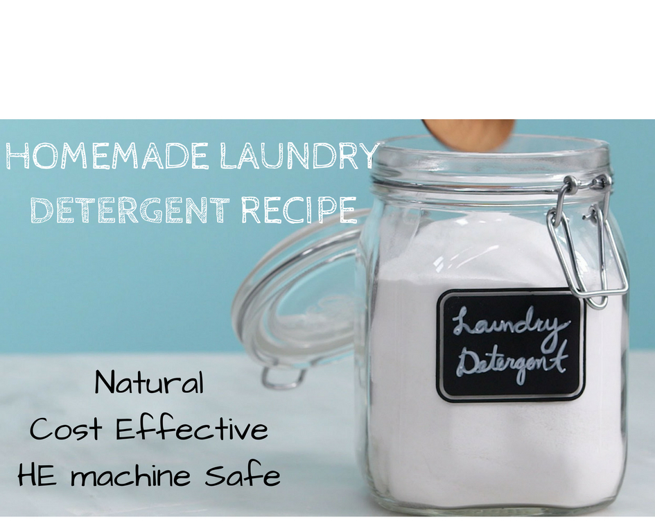 Homemade Laundry Detergent (Laundry Soap) Recipe